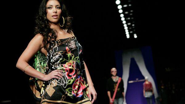 Американская модель, актриса Ким Кардашьян
