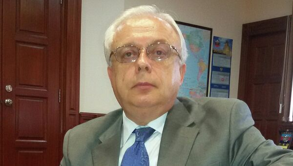 Посол РФ в Малайзии Валерий Ермолов