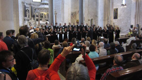 Концерт Московского синодального хора в базилике святителя Николая в Бари