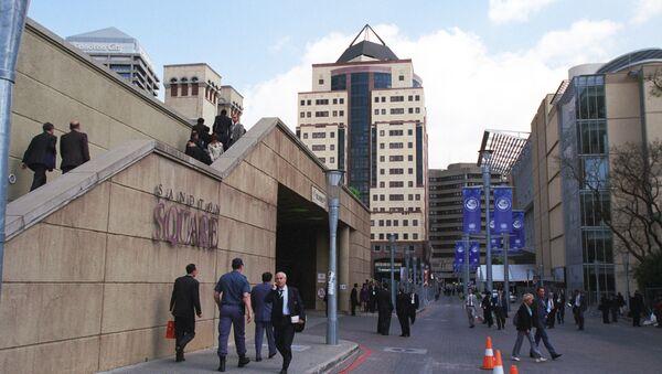 Город Йоханесбург. Архивное фото