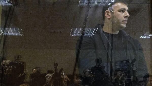 Охранник Амирана Георгадза Шота Элизбарашвили. Архивное фото