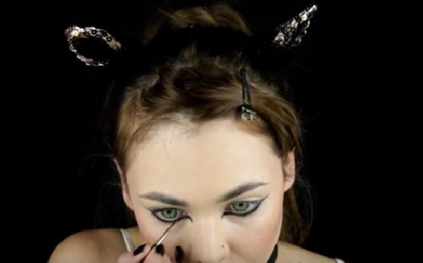 Образ для Хэллоуина: мастер-класс