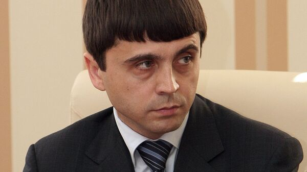 Заместитель председателя Совета министров Крыма Руслан Бальбек. Архивное фото
