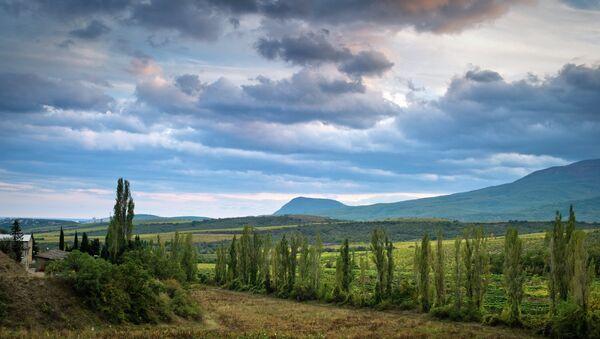 В окрестностях села Нижняя Кутузовка в Крыму