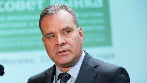 Председатель правления Ассоциации НП Совет рынка Максим Быстров. Архивное фото