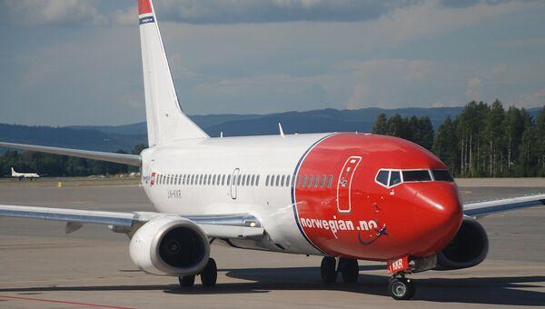 Боинг авиакомпании Norwegian