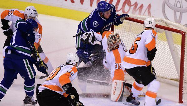 Матч Ванкувер - Филадельфия в НХЛ, 2 ноября 2015