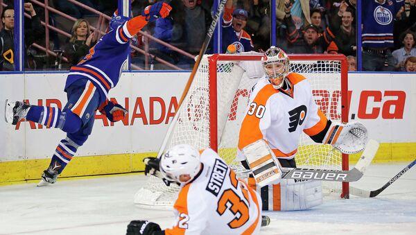 Эпизод матча Эдмонтон Ойлерз - Филадельфия Флайерз в НХЛ, 3 ноября 2015