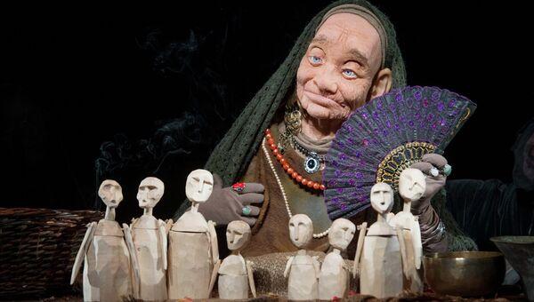 Сцена из спектакля Центрального театра кукол имени Образцова