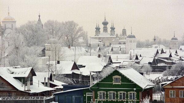 Город Суздаль в Владимирской области