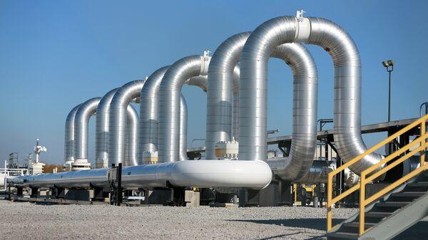 Насосная станция нефтепровода Keystone в США. Архивное фото