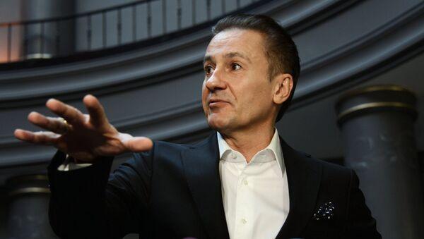 Актер, режиссер Олег Меньшиков. Архивное фото