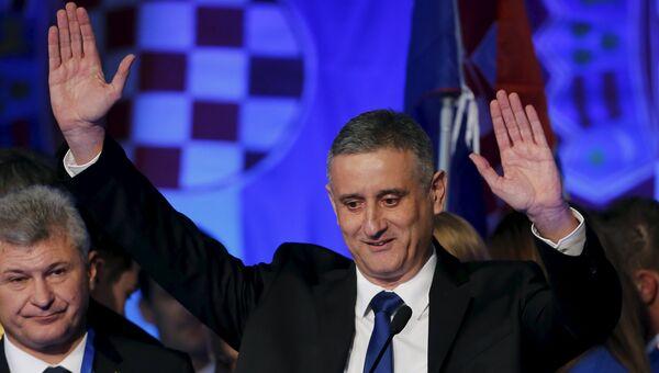 Глава Хорватского демократического содружества Томислав Карамарка