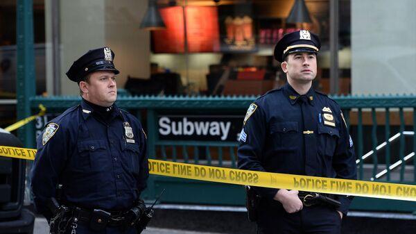 Американские полицейские. Архивное фото