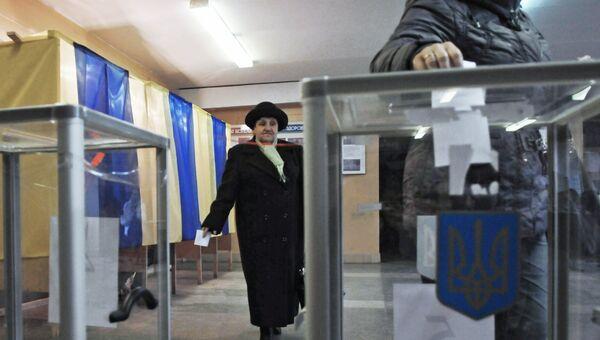 Голосование во Львове. Архивное фото