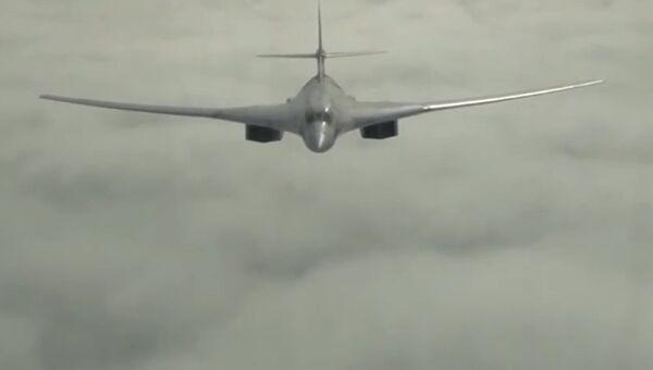 Cтратегический бомбардировщик-ракетоносец. Архивное фото