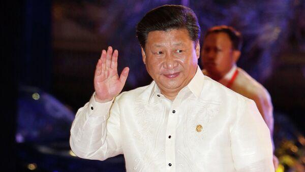Президент Китая Си Цзиньпин на саммите АТЭС в Маниле