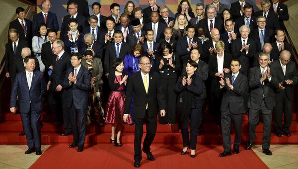 Совместное фотографирование участников саммита АТЭС в Маниле