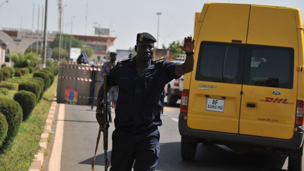 Офицер полиции Мали