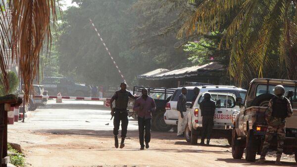 Сотрудники полиции в Мали