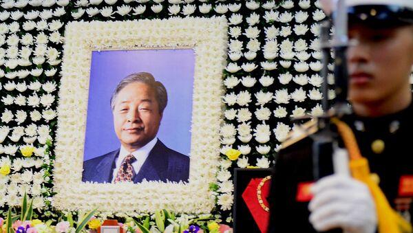 Прощание с экс-президентом Южной Кореи Ким Ён Самом, 22 ноября 2015