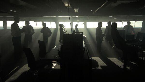 Офицеры ВМС Великобритании. Архивное фото