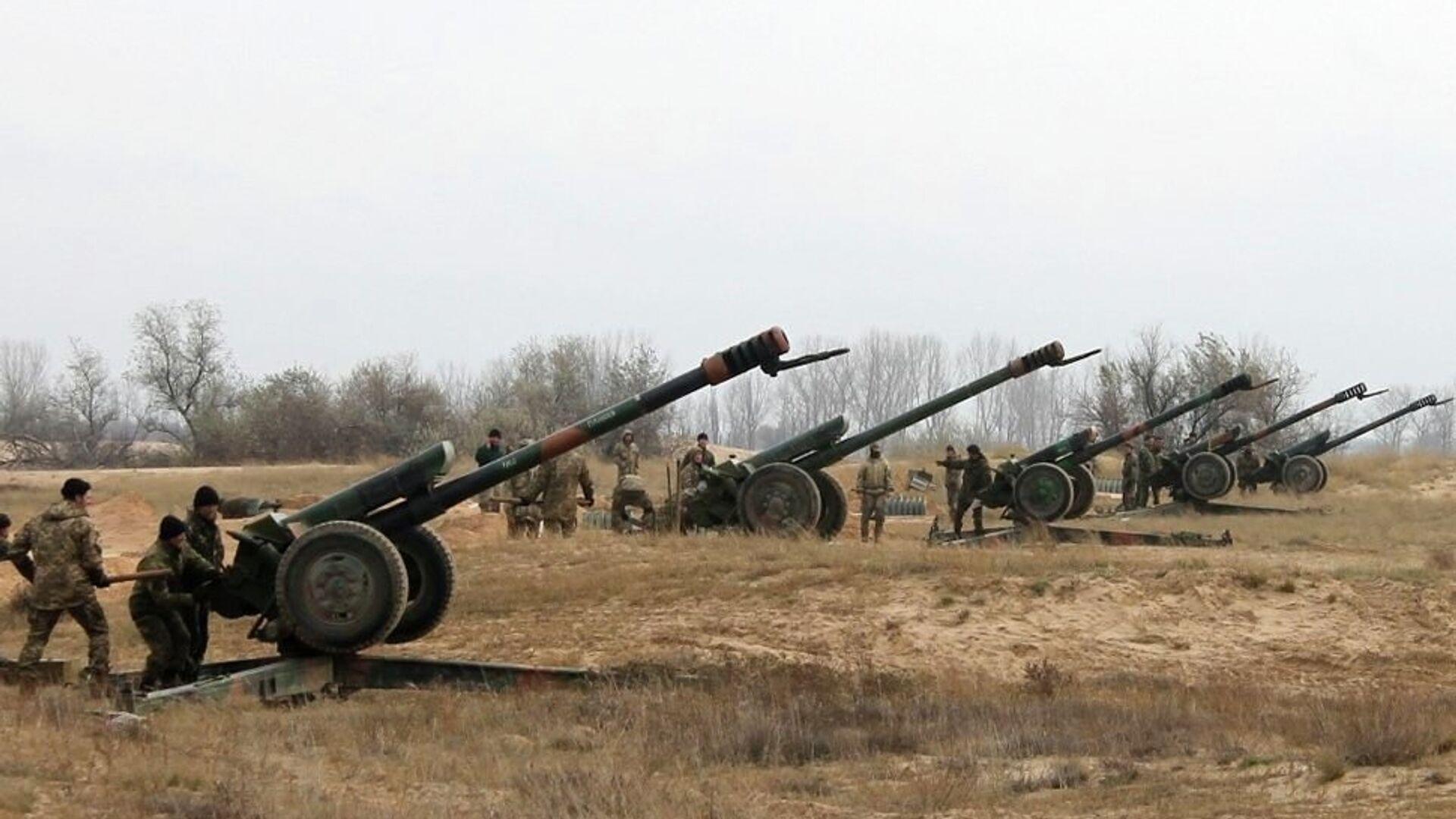 Артиллерия ВСУ - РИА Новости, 1920, 05.06.2021