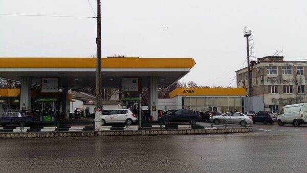 Станция бензозаправки в Крыму. Архивное фото