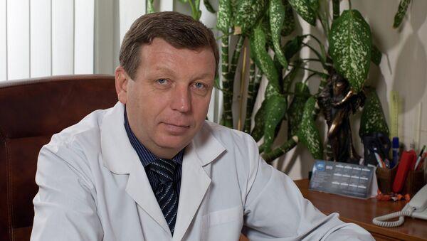 Главный врач саратовской городской детской поликлиники №8 Владимир Дмитриев
