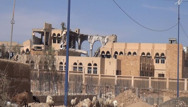 Разрушения в городе Саада на северо-востоке Йемена. Архивное фото