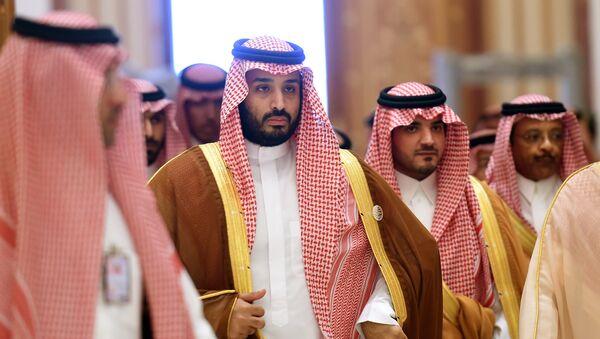 Министр обороны Саудовской Аравии принц Мухаммед бен Салман