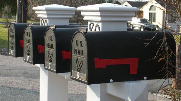 Почтовые ящики в США