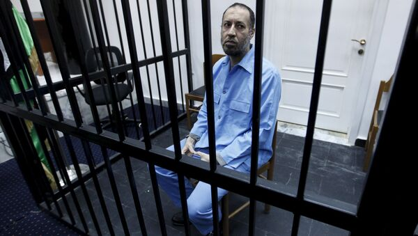 Саади Каддафи, Ливия, суд по делу об убийстве и репрессиях