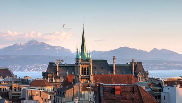Лозанна, Швейцария. Архивное фото.