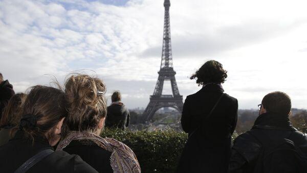 Минута молчания в Париже. Архивное фото