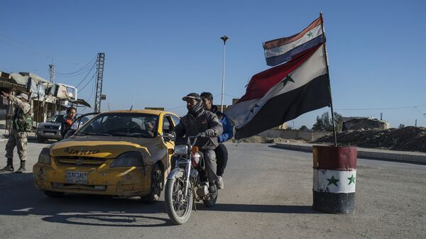 Провинция Эль-Хасаке на северо-востоке Сирии