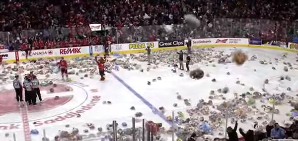 Тысячу мишек Тедди за один красивый гол