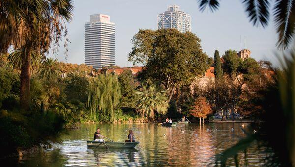 Парк Сьютаделья в Барселоне. Архивное фото