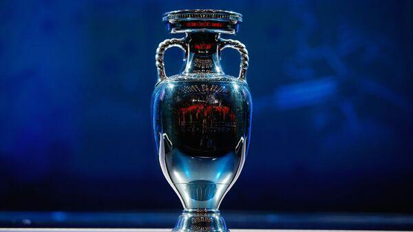Кубок победителя чемпионата Европы по футболу 2016 во Франции. Архивное фото