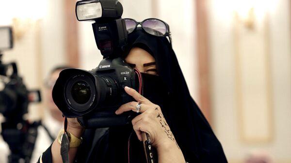 Женщина в Эр-Рияде, Саудовская Аравия
