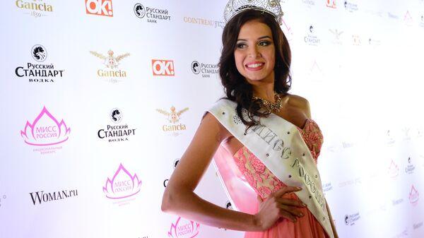 Финалистка конкурса Мисс Мира - 2015 София Никитчук