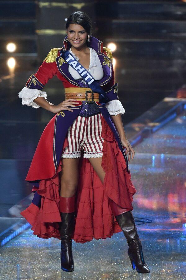 Представительница Таити на конкурсе Мисс Франция-2016