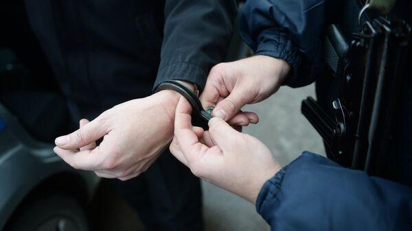 Задержание правонарушителя