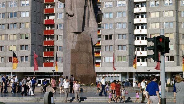 Памятник В. И. Ленину в восточном Берлине