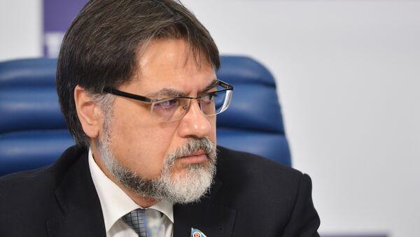 Представитель Луганской народной республики (ЛНР) в контактной группе по урегулированию ситуации на востоке Украины Владислав Дейнего