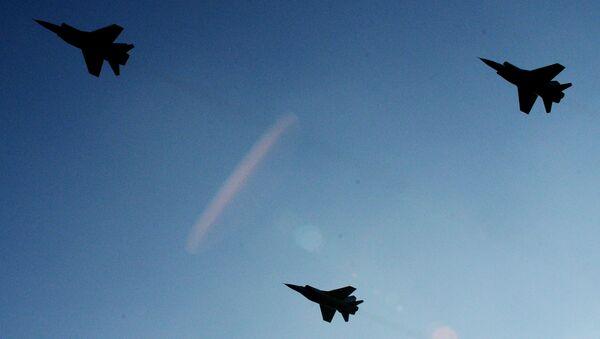 Самолеты МиГ-31. Архивное фото