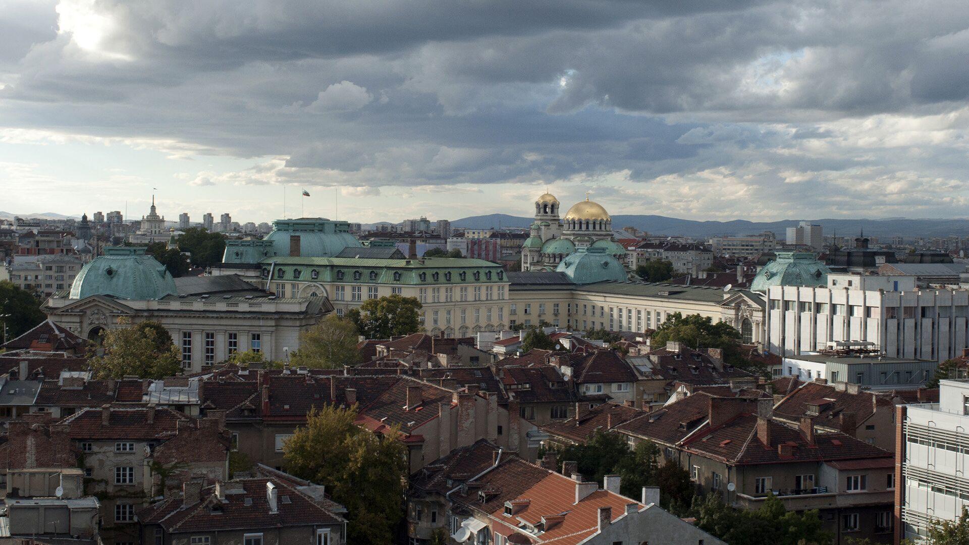 Вид на город София, Болгария - РИА Новости, 1920, 08.10.2020