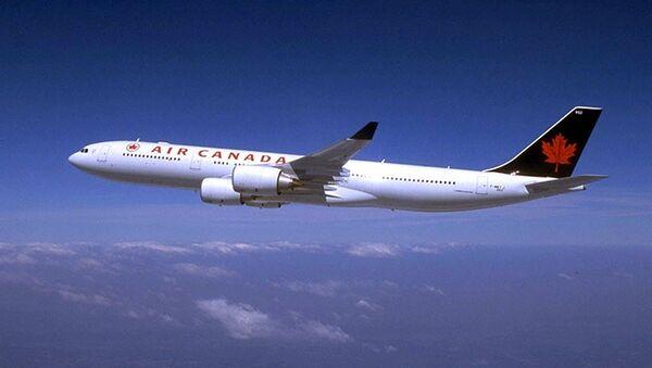 Самолет авиакомпании Air Canada. Архивное фото