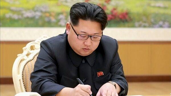 Лидер КДР Ким Чен Ын. Архивное фото