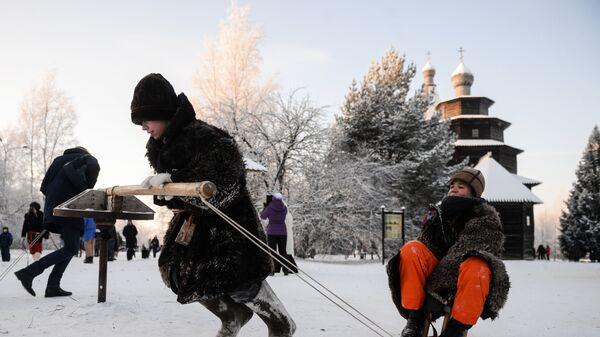 Зимний праздник Святок